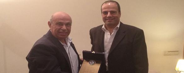 Dr. Elias Maalouf visit by LSE